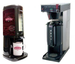 Machine à café avec thermos gradué