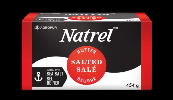 Beurre salé Natrel 454g