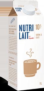 Crème à café Nutrilait 10% 1L