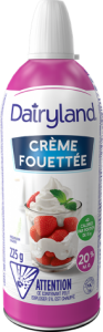Crème fouetter Dairyland 225g