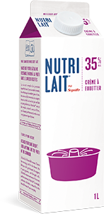 Crème à fouetter Nutrilait 35% 1L