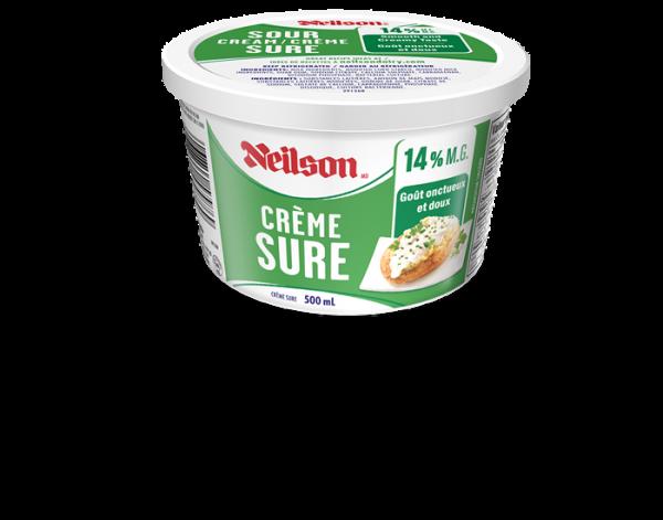 Crème sûr Neilson 14% 500mL