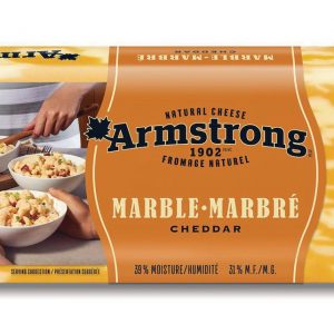 Fromage cheddar marbré Armstrong 450g