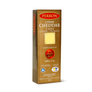 Fromage cheddar fort 2 ans Perron 170g