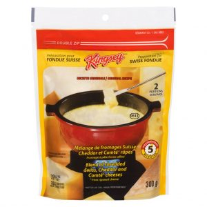 Fromage à fondue suisse Kingsey 300 g