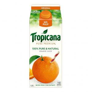 Jus d'orange sans pulpe original Tropicana 1,75L