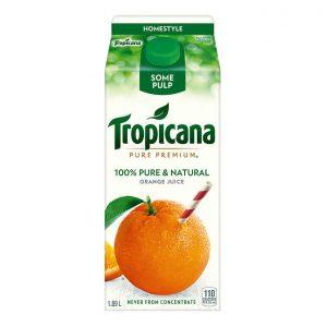 Jus d'orange avec un peu de pulpe original Tropicana 1,75L