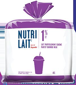 Lait Nutrilait 1% 4L