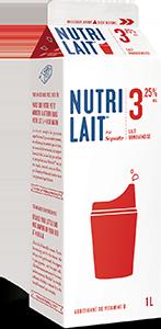 Lait Nutrilait 3,25% 1L