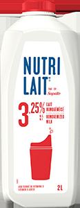 Lait Nutrilait 3,25% 2L