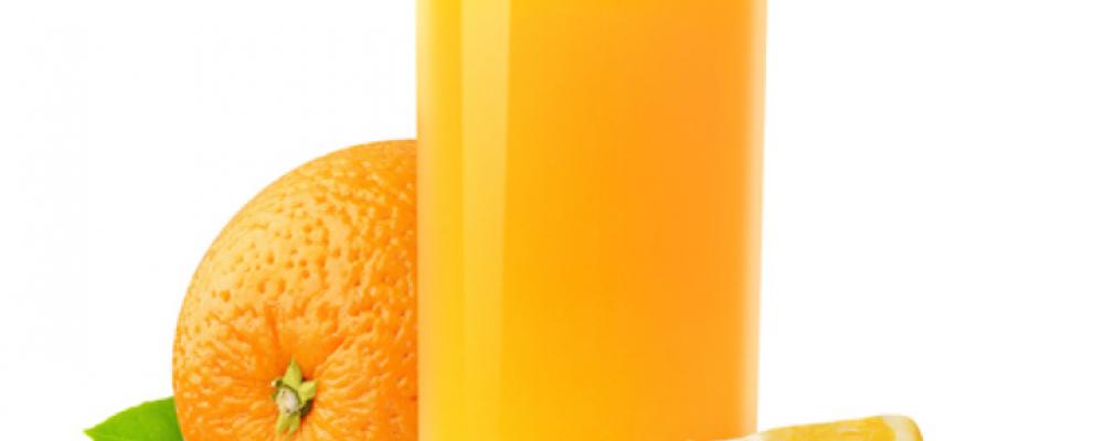 orange et jus